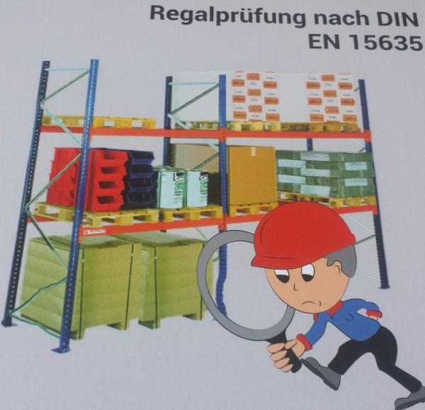 Regal-Inspektion nach DGUV Regel 108-007 und DIN EN 15635